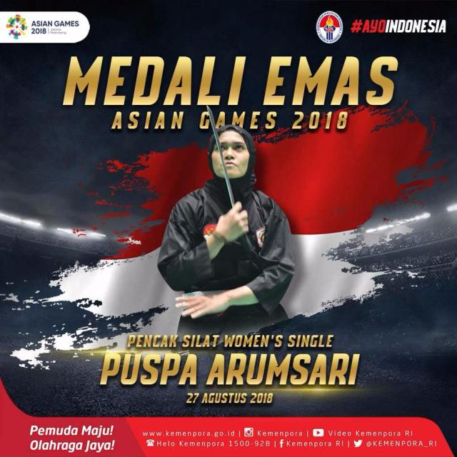 PENCAK SILAT WOMENS SINGLE